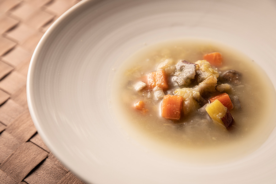 スープ6種(12食)+オーガニック小麦・全粒粉プチパン12個セット