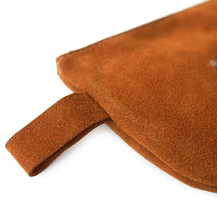 HTC SUNSET Multi Pouch Wallet / Suede Camel