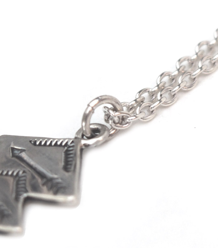 CHAFF DESIGN〔チャフ・デザイン〕SILVER NATIVE NECKLACE � / SIZE S