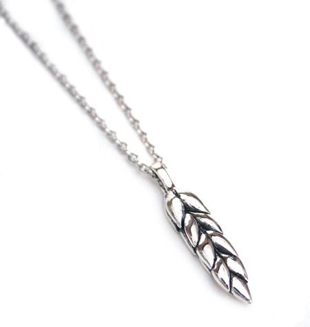 CHAFF DESIGN〔チャフ・デザイン〕Wheat Silver Necklace / Medium