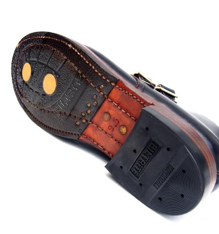 SANTA ROSA 【サンタ ローサ】 ブーツ Double Monk Strap Boots / Black