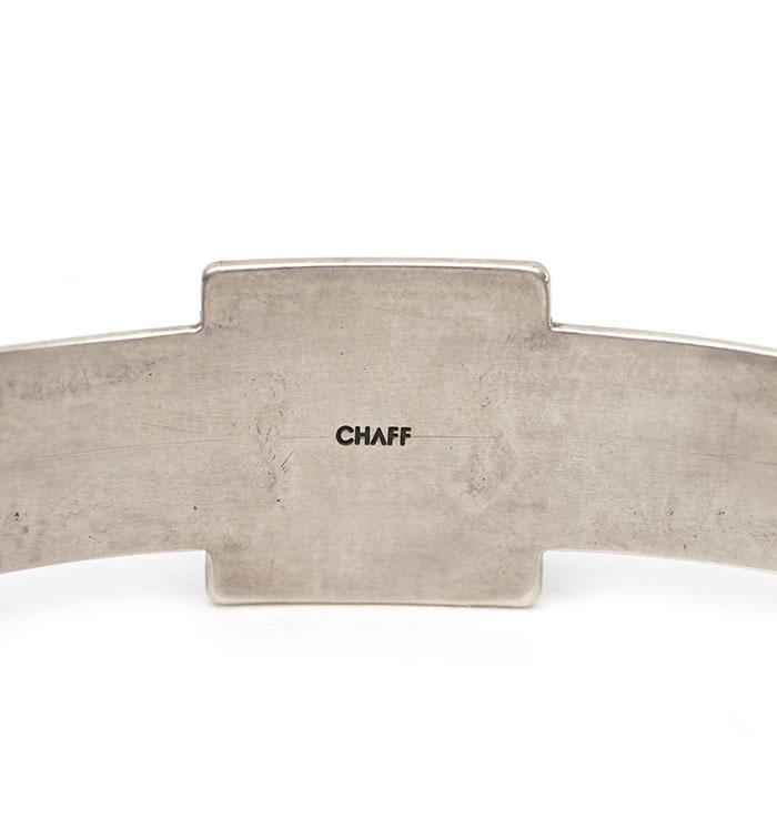 CHAFF DESIGN〔チャフ・デザイン〕Native Spuare Base Bangle