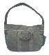 IrregulaR by ZIP STEVENSON Vintage Military Shoulder Bag Zipper #1 / Khaki
