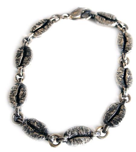CHAFF DESIGN〔チャフ・デザイン〕Coffee Beans Silver Bracelet