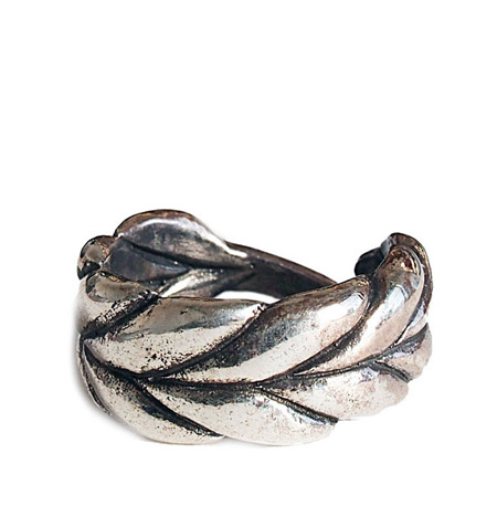 CHAFF DESIGN〔チャフ・デザイン〕Silver Wheat Wide Ring