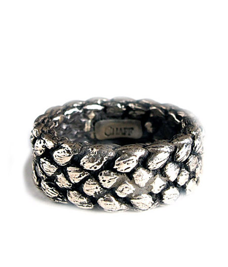 CHAFF DESIGN〔チャフ・デザイン〕Silver Woven Ring