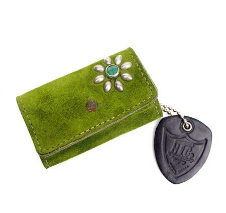 HTC Key Case Flower Suede #2 TQS N / Green