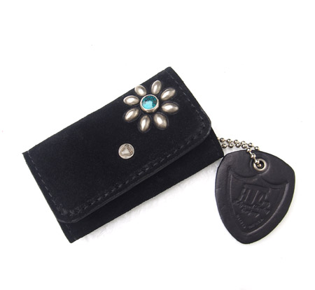 HTC Key Case Flower Suede #2 TQS N / Black
