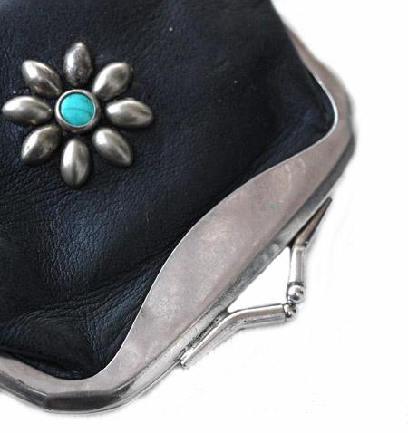 PANTY Original Design Vintage Remake Studs Leather Wallet / �