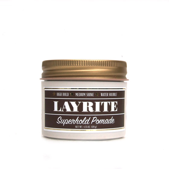 """LAYRITE 〔レイライト〕 DELUXE POMADE  """"4.25oz""""/SUPER HOLD"""