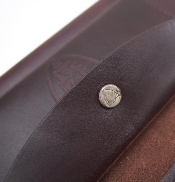 【予約受付】HTC SUNSET Long Wallet Flower Wave #8 TQS MIX / D Brown