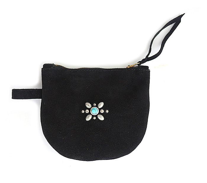 HTC SUNSET Multi Pouch Wallet / Suede Black