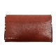 HTC SUNSET Long Wallet Flower & Rounds #2 TQS B / Brown