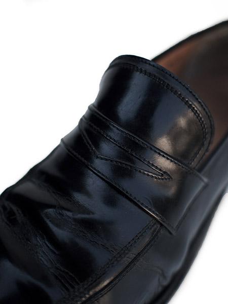 """Vintage """"Salvatore Ferragamo"""" Leather Slipon Shoes"""