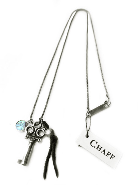 CHAFF DESIGN〔チャフ・デザイン〕Key&Shell Necklace