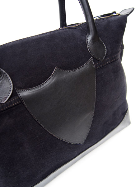 HTC Tote Bag Vintage Remake #5 / Black�