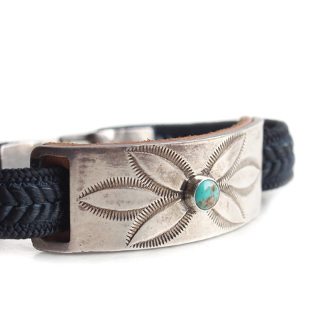 CHAFF DESIGN〔チャフ・デザイン〕Braid Plate On Small Turquoise