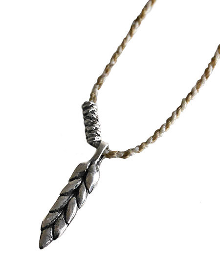 CHAFF DESIGN〔チャフ・デザイン〕Wheat Code Necklace