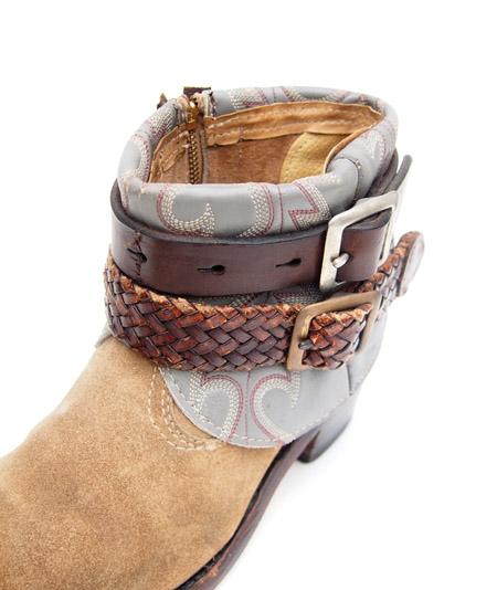 IrregulaR by ZIP STEVENSON 〔イレギュラー〕 Vintage Remake Western Boots Beige / 6(Ladies)