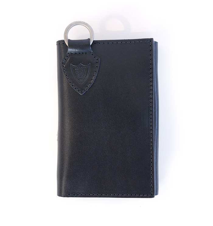 【予約受付】HTC SUNSET Short Wallet Flower TQS N / Black