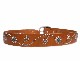 HTC Belt Flower #1 TQS N / Lt Brown