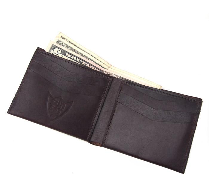 HTC SUNSET Short Wallet Simple / D Brown