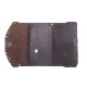 HTC SUNSET Long Wallet Flower & Umbrella #1 TQS N / D Brown