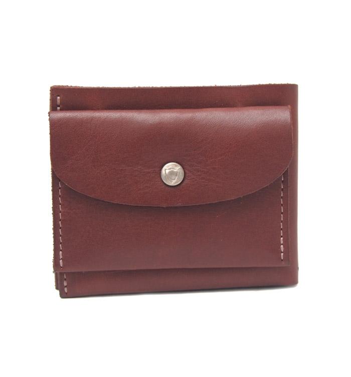 HTC SUNSET Short Wallet Simple / Brown