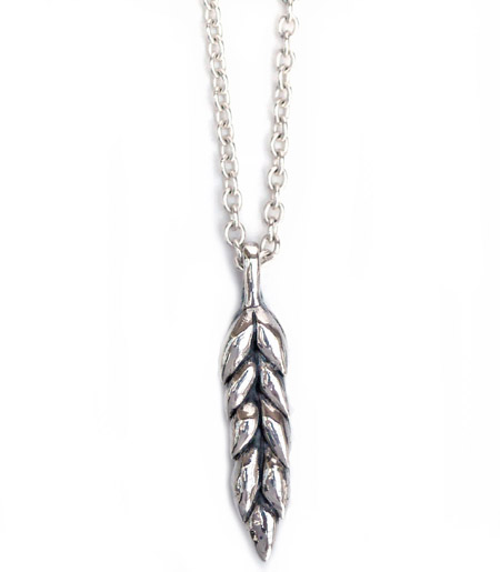 CHAFF DESIGN〔チャフ・デザイン〕Wheat Silver Necklace / Large