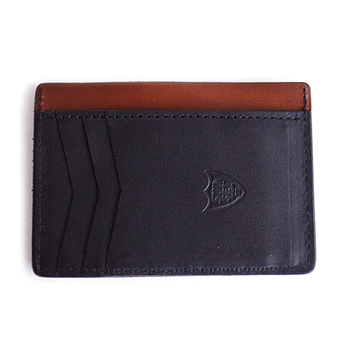 HTC SUNSET Mini Wallet / Black × Brown