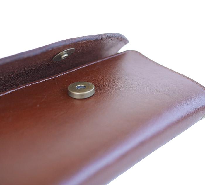 HTC SUNSET Long Wallet Flower #1 TQS N / Brown