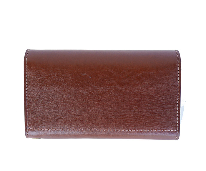 HTC SUNSET Long Wallet Flower #1 TQS N / Brown