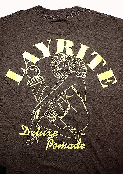 LAYRITE 〔レイライト〕   PIN UP GIRL S/S T-Shirts / BROWN