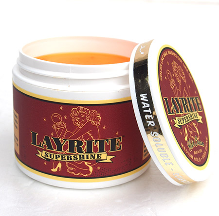 LAYRITE 〔レイライト〕 DELUXE POMADE/SUPER SHINE
