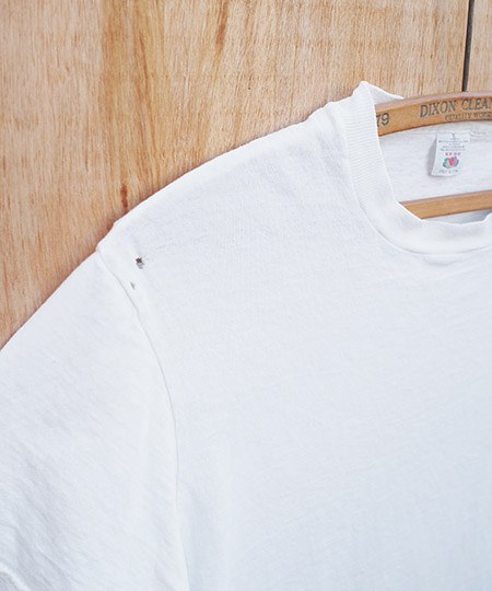 """1970s Vintage """"Fruits Of The Loom"""" Crew Neck T-Shirts"""