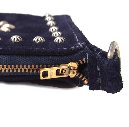 【予約受付】HTC L-zip Wallet Flower Suede #1 TQS N / Navy