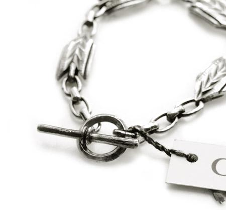 CHAFF DESIGN〔チャフ・デザイン〕Arrow Chain Bracelet