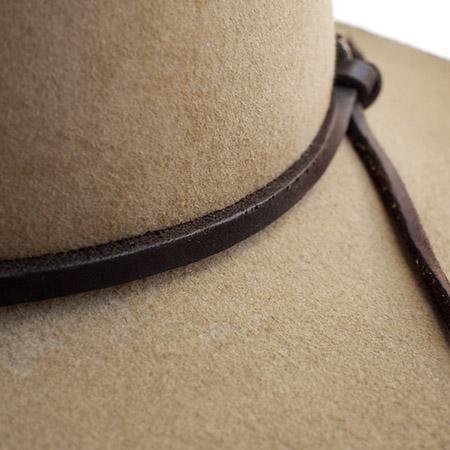CHAFF DESIGN〔チャフ・デザイン〕 Vintage Remake Custom Long Brim Hat / Beige�