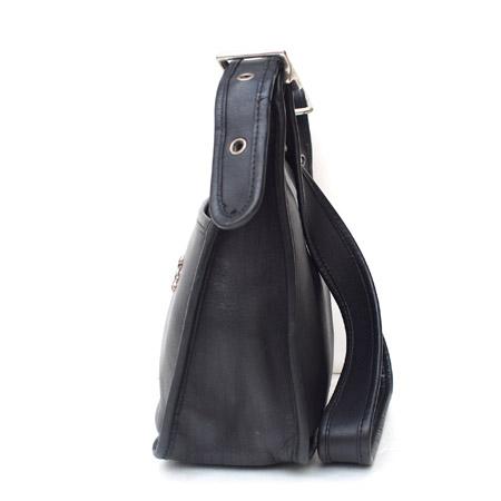 """PANTY Original Design """"OLD COACH"""" Vintage Remake Studs Leather Shoulder Bag / No.4"""