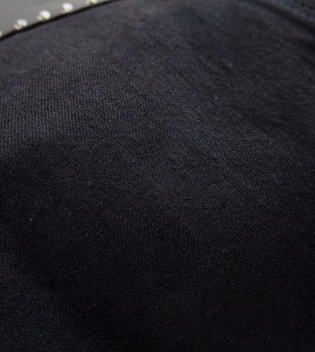 HTC Tote Bag Vintage Remake Studs #6 / Black�