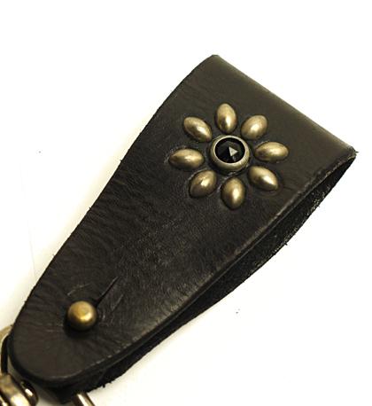 HTC 〔エイチティーシー〕 キーホルダー KEY HOLDER / BLACK  BLACK STONE