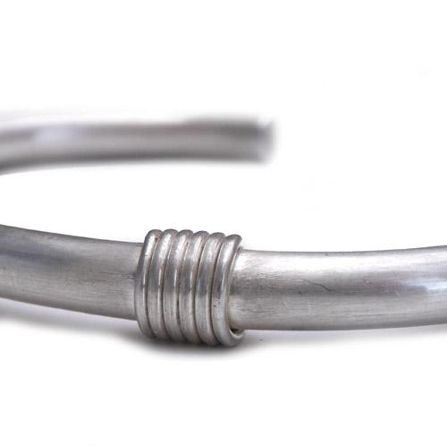CHAFF DESIGN〔チャフ・デザイン〕C-ROUND W COIL CUFF SV950/ 5.5mm