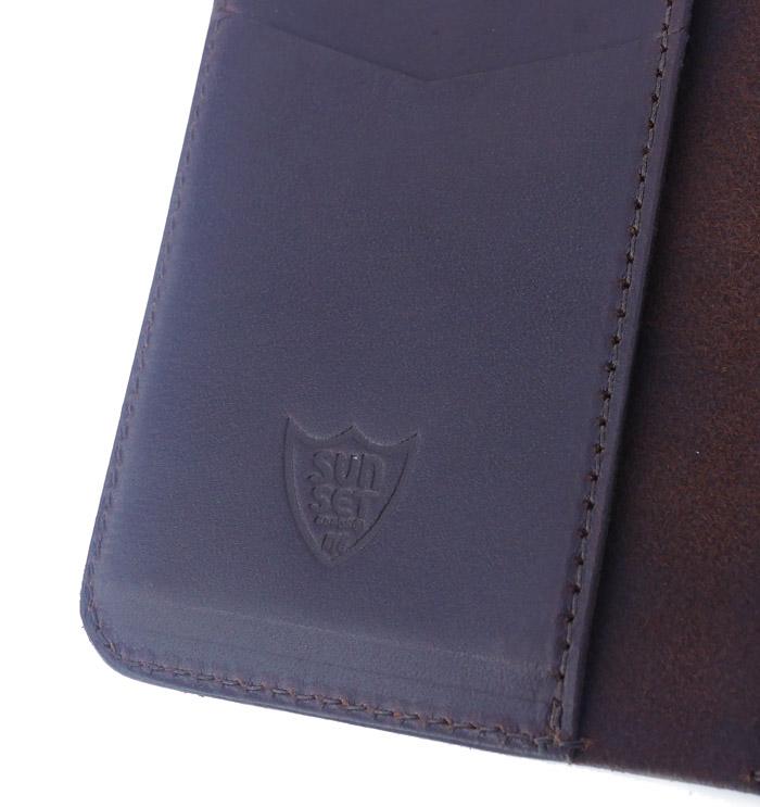 HTC SUNSET Card Case Flower TQS N / D Brown