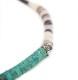 CHAFF DESIGN〔チャフ・デザイン〕Turquoise Shell On Silver Bracelet