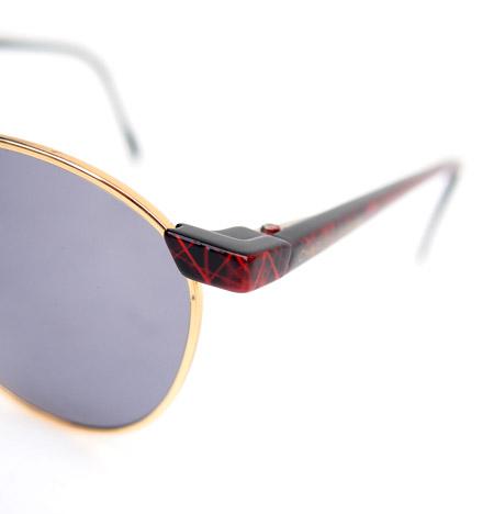 "Vintage ""Charles Jourdan"" Dead Stock Sunglasses / Red"