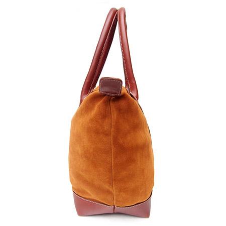 HTC Tote Bag Emblem Suede / Camel
