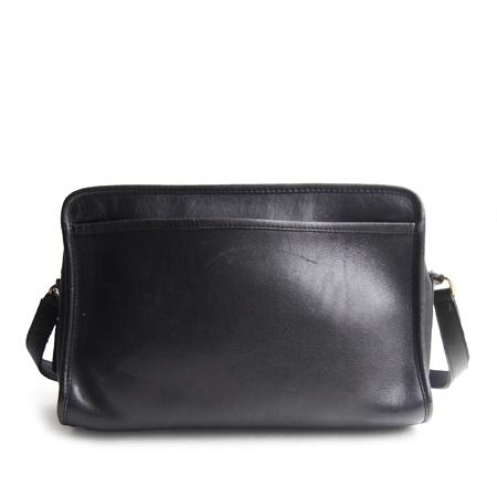 """PANTY Original Design """"OLD COACH"""" Vintage Remake Studs Leather Shoulder Bag / No.13"""