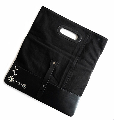 HTC Clutch Bag 2way Denim #2 TQS N / Black