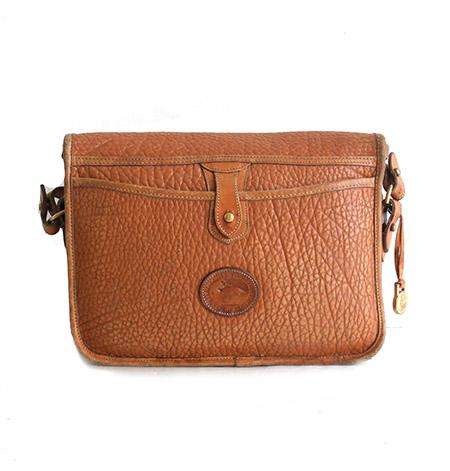 """1980s""""Dooney&Bourke""""Leather Shoulder Bag/CAMEL"""