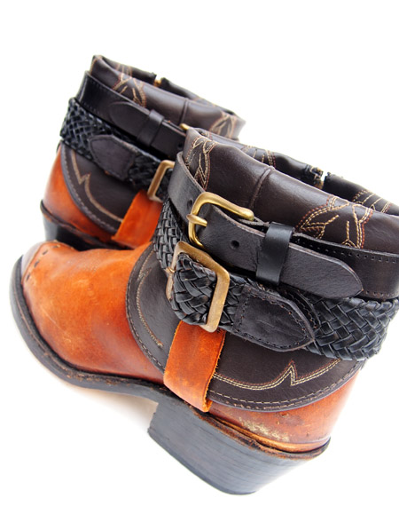 IrregulaR by ZIP STEVENSON 〔イレギュラー〕 Vintage Remake Western Boots Brown / 6.5(Ladies)